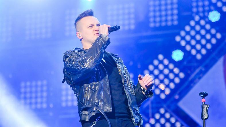 Krzysztof Sokołowski, wokalista zespołu Nocny Kochanek