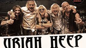 Uriah Heep na trzech koncertach w Polsce