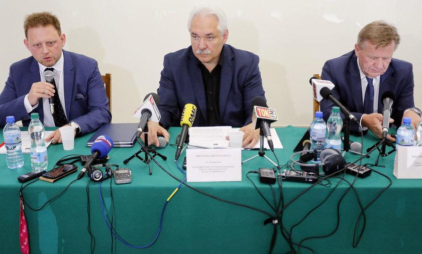 Konferencja prasowa z ZCO