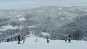 Warunki narciarskie w Beskidach - pół metra śniegu mimo odwilży