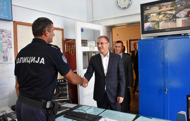 Nebojša Stefanović u Kladovu