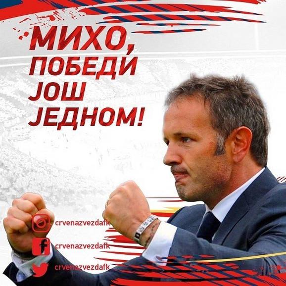 Poruka FK Zvezda Mihajloviću