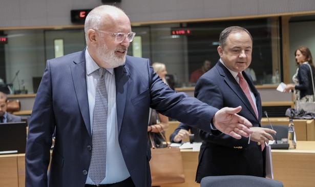 Posiedzenie Rady UE w sprawie Polski.
