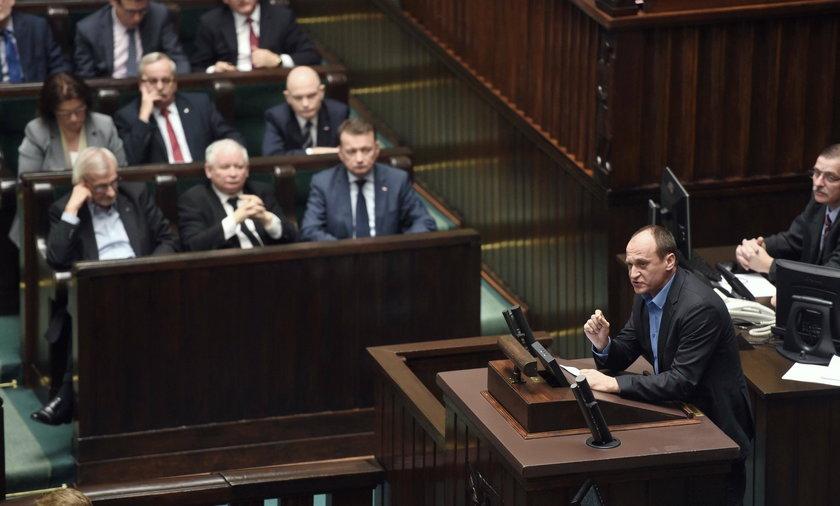 Paweł Kukiz w Sejmie.
