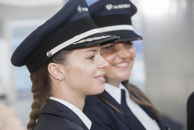 Vesna Aleksić, Mirjana Stojilković, Air Srbija, Piloti