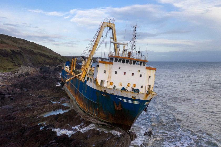 Statek widmo