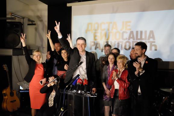 Radulović je zadovoljan izbornim rezultatima koji su mu omogućili ulazak u parlament