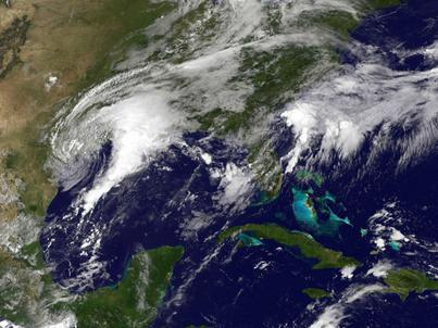 Harvey jest obecnie burzą tropikalną, ale nabiera siły