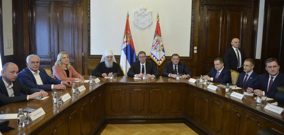 Sastanak u Predsedništvu