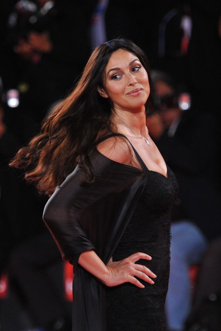 Monika Beluči na crvenom tepihu