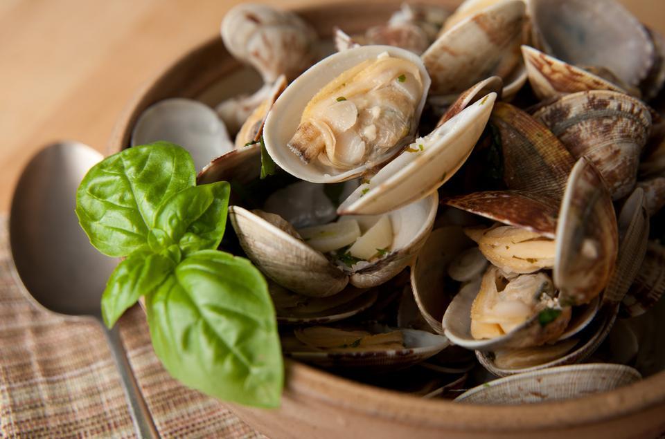10 morskich superproduktów: Małże