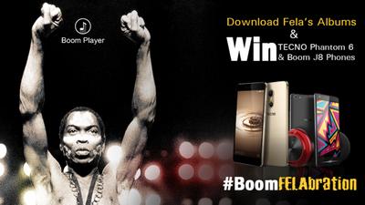 Download Fela's albums and win big!