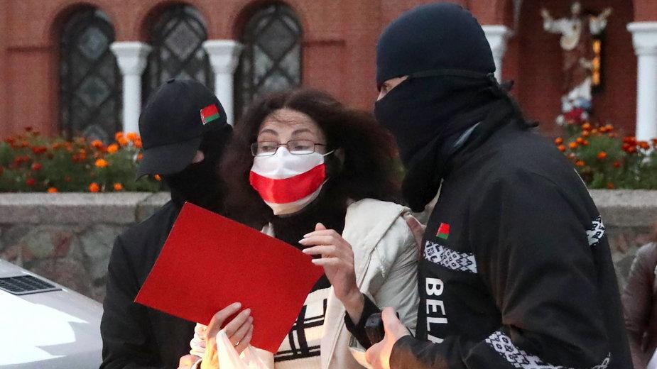 Od miesiąca trwają protesty na Białorusi