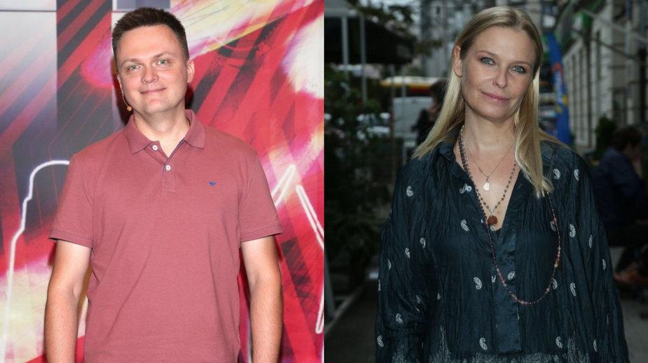 Szymon Hołownia i Paulina Młynarska
