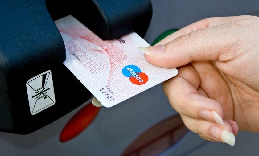 karta, platnicza, kredytowa, bankomat