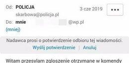 Policja ostrzega! Uważaj na takie wiadomości