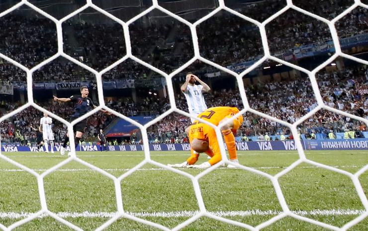 Vili Kabaljero na meču Hrvatske i Argentine