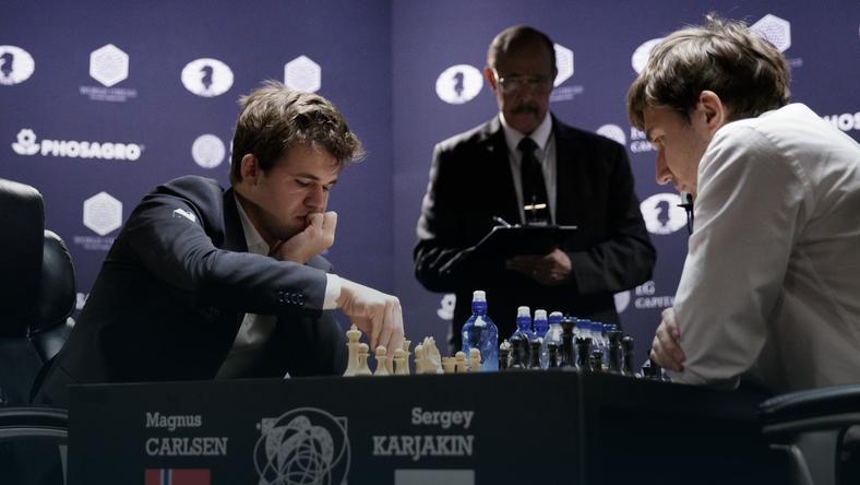 Magnus Carlsen i Siergiej Karjakin