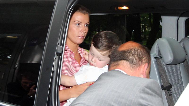 Coleen Rooney z synem Kayem