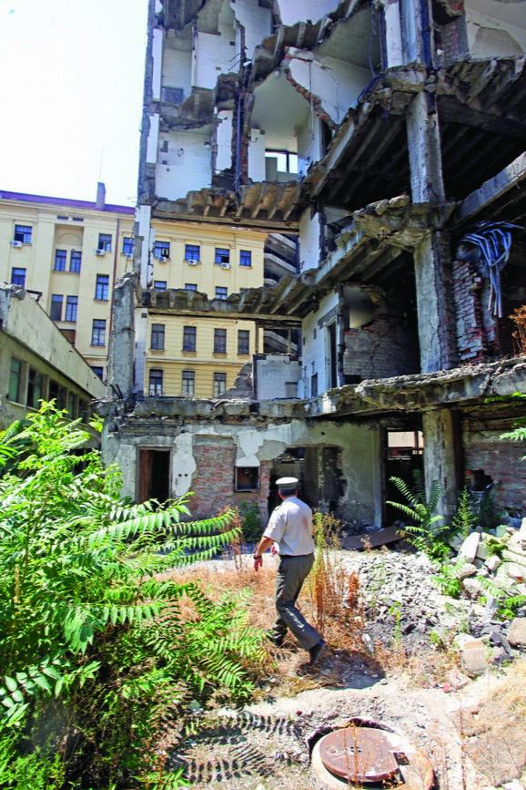 Oštećenja: Ruševine stoje punih 16 godina