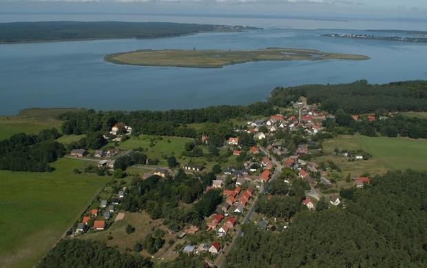 Wyspa Riether Werder i miejscowość Rieth