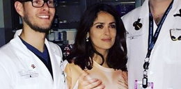 Znana aktorka w niegrzecznej koszulce. Lekarze zachwyceni