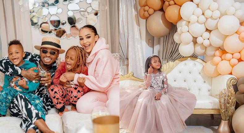Diamond gushes over daughter Princess Tiffah as she turns 6 [Photos]