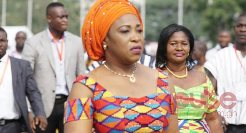 Foreign Affairs Minister, Shirley-Ayorkor Botchway
