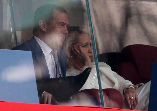 Dmitrij i Svetlana Medvedev