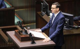 Sejm wznowił posiedzenie. Premier Morawiecki wygłasił expose