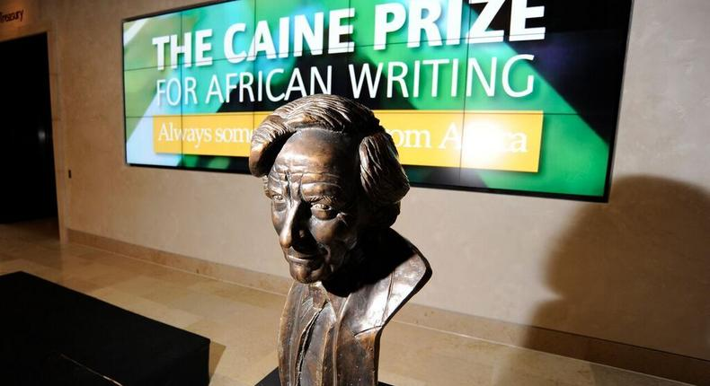 Names and books of the 5 African writers shortlisted for Caine Prize 2019. (Literary Hub)
