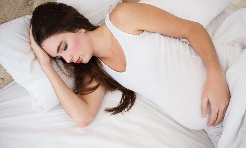 Ciężarne nie powinny spać dłużej niż 9 godzin
