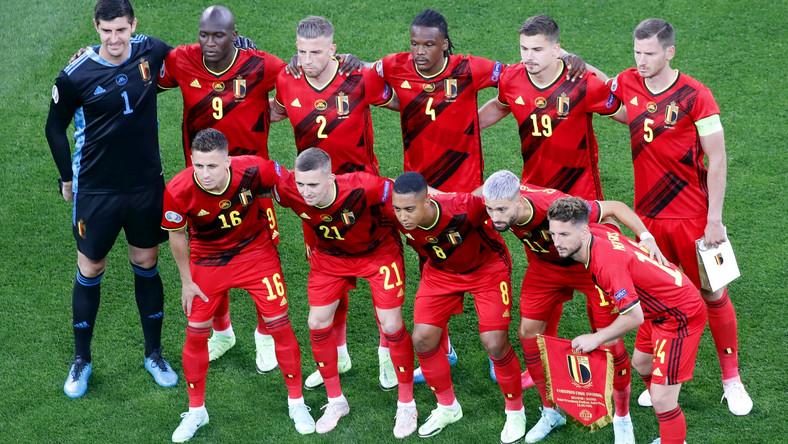 Piłkarze reprezentacji Belgii