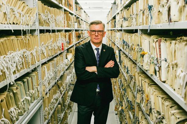 Sławomir Cenckiewicz, fot. Maksymilian Rigamonti