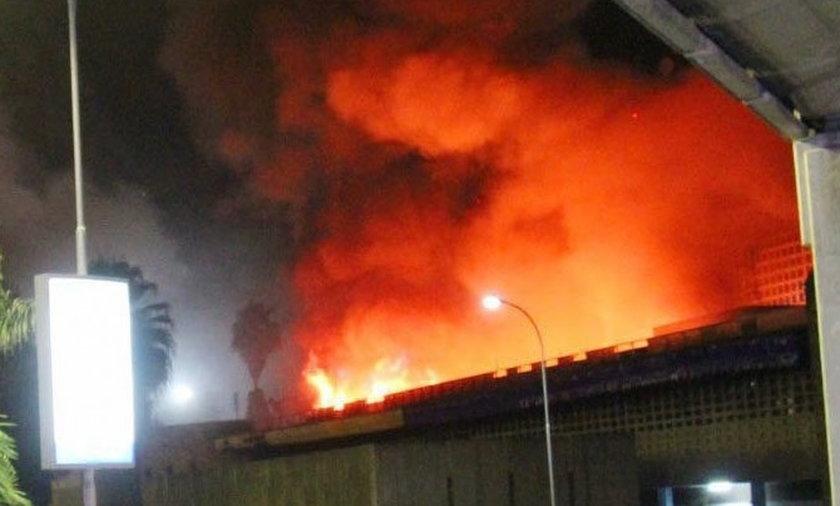 Pożar lotniska