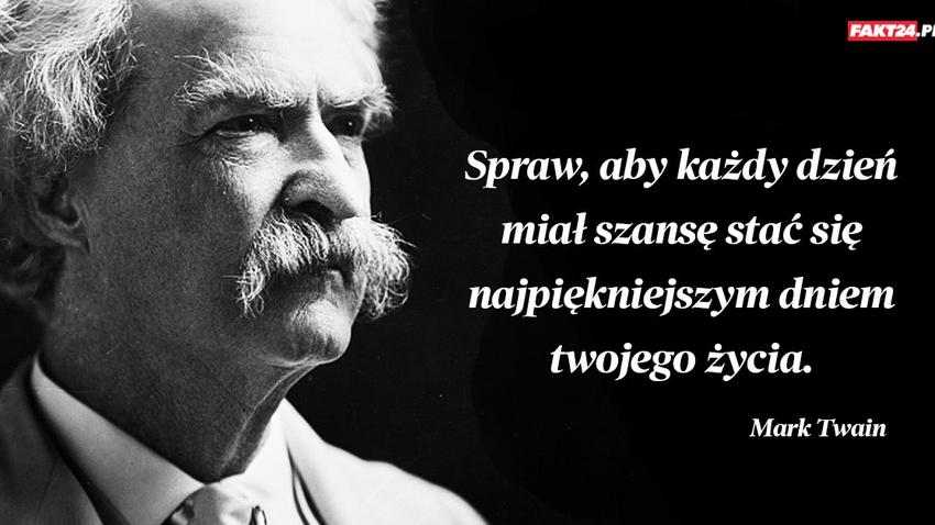 mark twain cytaty Mark Twain mark twain cytaty