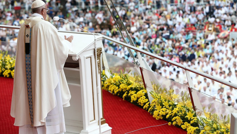 Papież Franciszek na Jasnej Górze