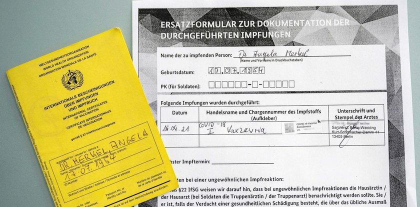 Merkel zaszczepiła się przeciw COVID-19. Jaką szczepionkę wybrała?