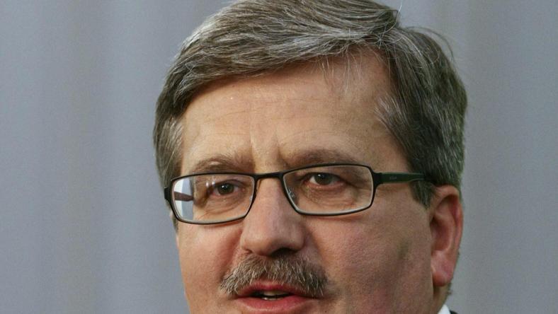 Bronisław Komorowski, fot. Reuters