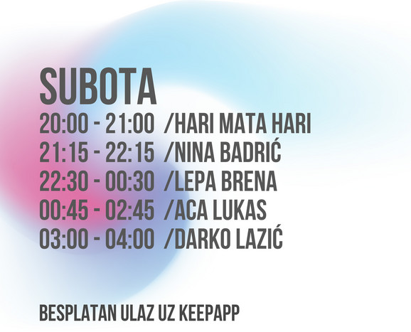 Subota Music Week