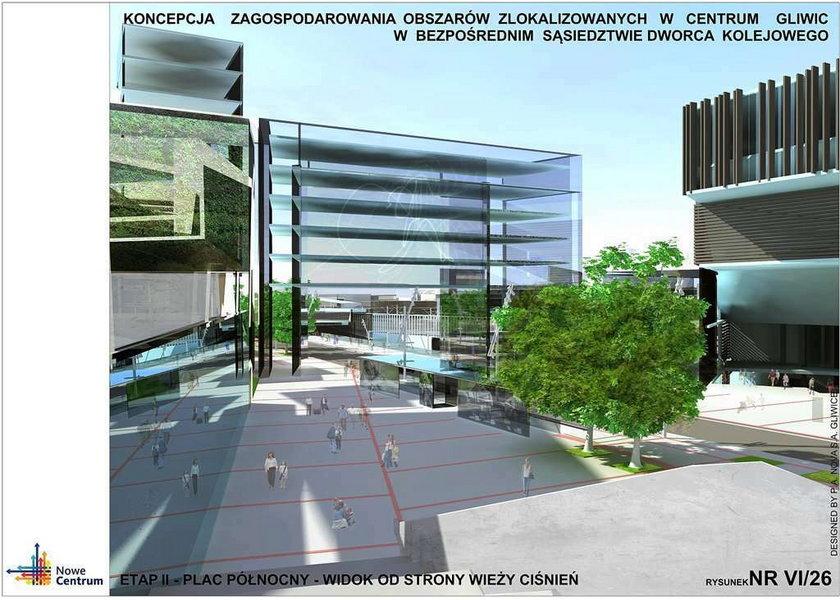 Przebudują centrum Gliwic