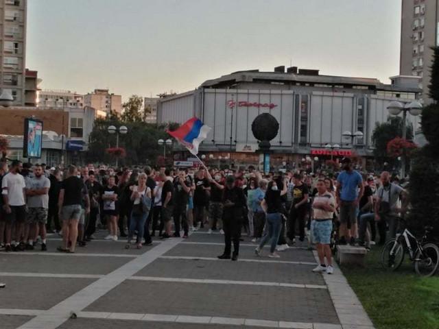 Kragujevac, protest