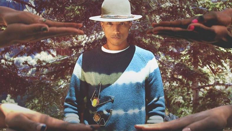 "Pharrell Williams na okładce singla ""Gust of Wind"""