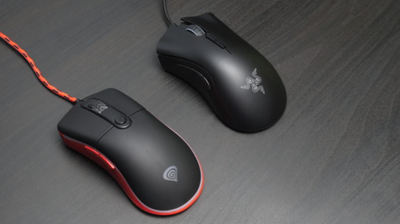 Genesis Krypton 500, Razer DeathAdder Elite