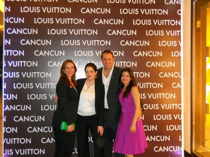 Đurđa na otvaranju luksuznog Luj Viton butika u Kankunu