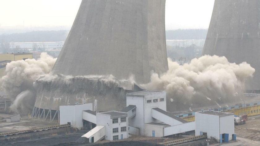 Wielkie sprzątanie po eksplozjach w elektrowni