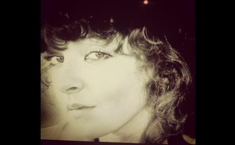 Magda Gessler w 1980 roku