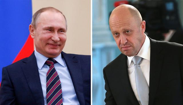 Vladimir Putin i Jevgenj Prigožin