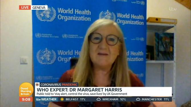 Portparolka SZO Margaret Haris
