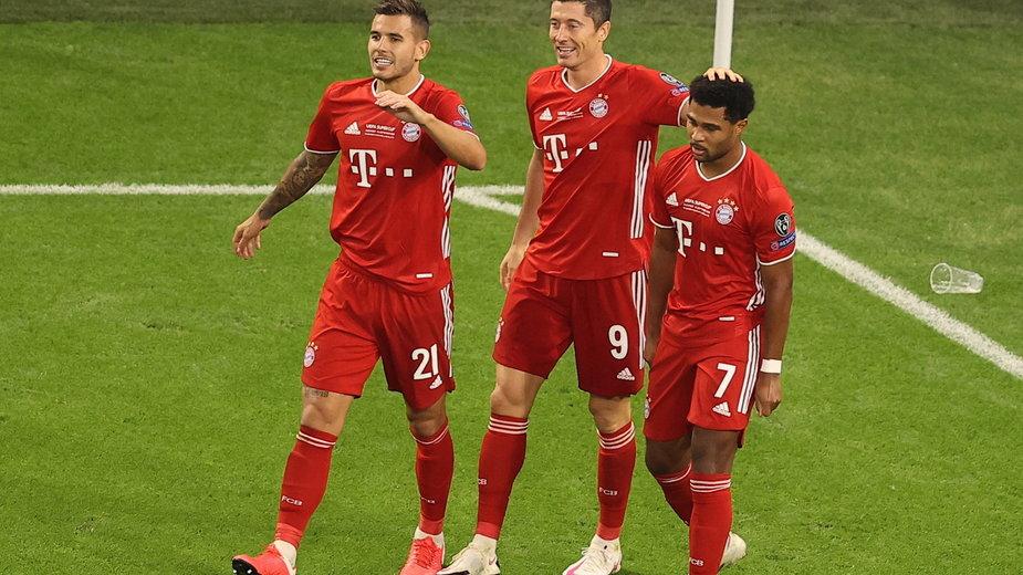 epa08694957 - HUNGARY SOCCER UEFA SUPER CUP (Bayern Munich vs Sevilla FC)